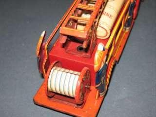 Inch Fire Truck. Nice toy, light wear, motor slips will need work