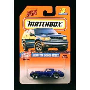 CORVETTE GRAND SPORT * BLUE * Stars & Stripes Series 1 MATCHBOX 1998
