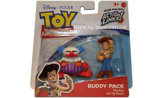 Disney Toy Story CHUCKLES & HAT TIP WOODY Buddy Pack