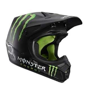 Fox 2012 V3 RC Monster Bike Helmet   01207