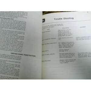 John Deere 445 Offset Disk OMA38077 J9 OEM OEM Owners Manual John