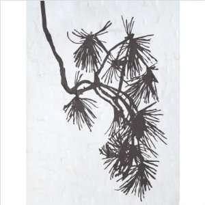 ferm LIVING 2003 01 Pine Tree Wall Sticker in Black