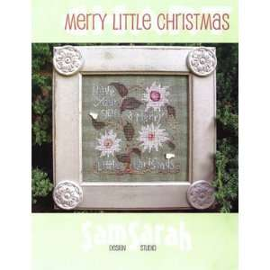 Merry Little Christmas   Cross Stitch Pattern: Arts