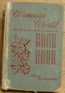 WOMANS WORLD COOK BOOK COOKBOOK RUTH BEROLZHEIMER 1939