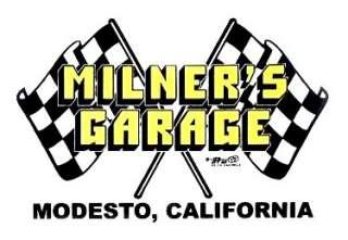 MILNERS GARAGE & SPEED SHOP GRAFFITI RACE T SHIRT NG2