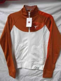 Nike sz S Texas Longhorn Womens Jacket 1883 Licensed