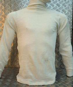 Genuine US Army Long Sleeve Waffle Thermal Top S   NEW |