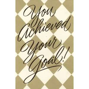 You Achieved Your Goal!   Congratulations Card (Dayspring