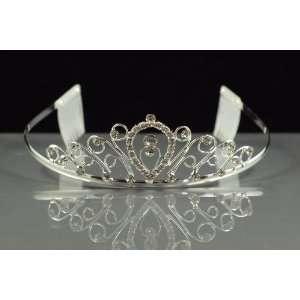 Australian Crystal Silver Wedding Bridal Prom Tiara Beauty