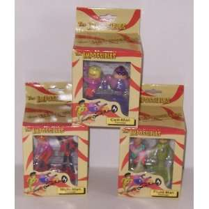 Hanna Barbera THE IMPOSSIBLES Japan Exclusive figure set