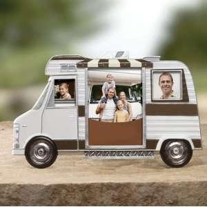 Tropical Beach Road Camper RV Picture Frame