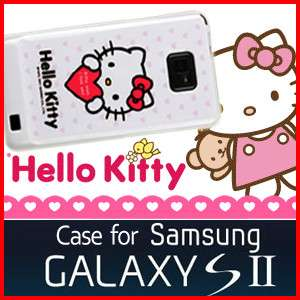SAMSUNG GALAXY S2 i9100 II HELLO KITTY SILICONE CASE