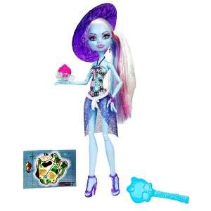 Monster High Skull Shores 5 Dolls Set Abbey, Ghoulia, Gil Weber