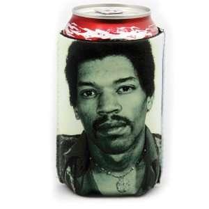 Jimi Hendrix Celebrity Mugshot Koozie Patio, Lawn