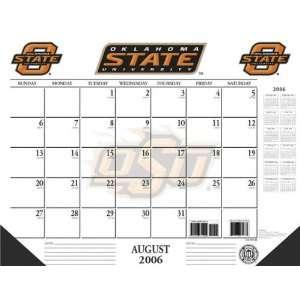 Oklahoma State Cowboys 22x17 Academic Desk Calendar 2006
