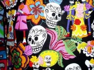 Rockabilly Tattoo ORGANIC Skull girl dress kids clothes