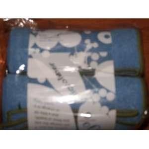 Yogarat Yoga Rat Microfiber Hand & Face Towel Sky Blue Olive 2 Pack 24
