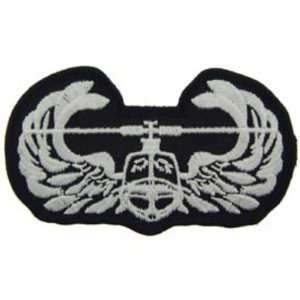 U.S. Army Air Assault School Patch Black & White 3 Patio