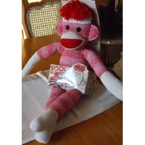 Schylling 20 Girl Sock Monkey Pink Toys & Games