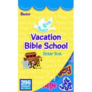 WeGlow International Vacation Bible School Sticker Book
