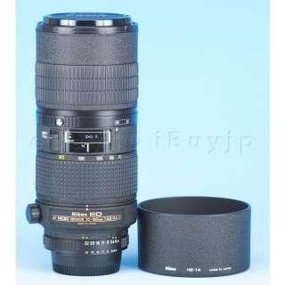 Nikon ED Micro Nikkor 70 180mm f4.5 5.6 D Lens 4.5 180 Macro Zoom