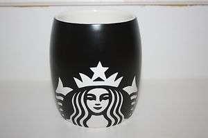 New Logo 2011 Starbucks 14oz Black Ceramic Mug