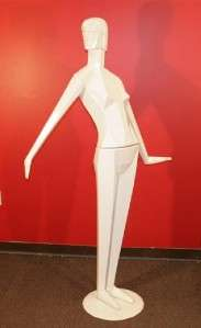Vintage Art Deco VOGUE Full Body Female Woman Mannequin Dress Form