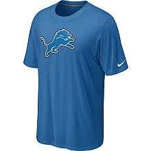 Nike Detroit Lions Sideline Legend Authentic Logo Dri FIT T Shirt