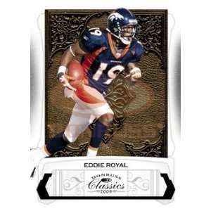 Eddie Royal   Denver Broncos   2009 Donruss Classics NFL Football
