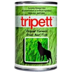Tripett Green Tripe Original Canned Dog Food Case