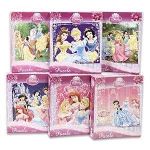Disney Princess 100 Piece Jigsaw Puzzle, A Set of 6 Puzzles