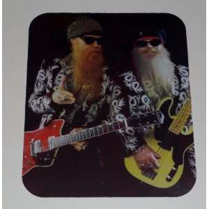 ZZ TOP Billy & Dusty COMPUTER MOUSE PAD