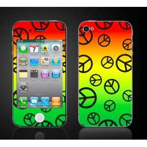 4th generation apple iPhone decal cover Skins case.