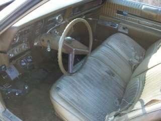 DASH PAD  NICE 1970 Oldsmobile TORONADO 70 70OT1 3P