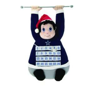 NFL Dallas Cowboys Plush Christmas Advent Calendar: Sports & Outdoors