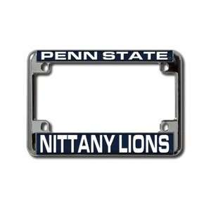 Penn State Nittany Lions Chrome Motorcycle RV License