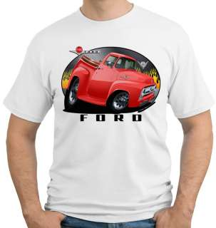 1956 F 100 Ford Truck Official Licenced Tshirt F100