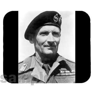 Field Marshal Bernard Montgomery Mouse Pad Everything