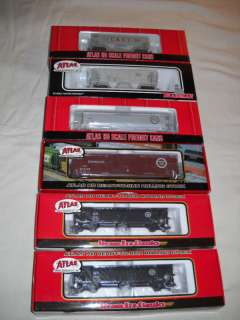 ATLAS MISSOURI PACIFIC & C.& E.I. FREIGHT CARS 6 PACK