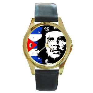 Che Guevara v2 Gold Metal Watch