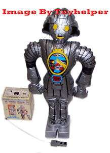 Buck Rogers Twiki Inflatable Remote Control Radio 80s