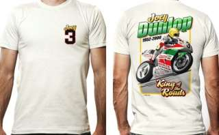 Joey Dunlop King of the Roads T shirt, size XL