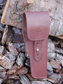 BARSONY BROWN LEATHER FLAP HOLSTER LUGER P.08 MAUSER 4