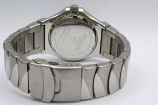 New Elgin Men Blue Dial Steel Dress Date Watch 44mm FG052