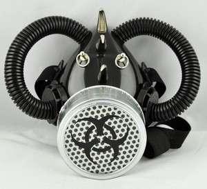 KILLZONE 3 BIO HAZARD GAS MASK RESPIRATOR ANIME COSPLAY BLACK META