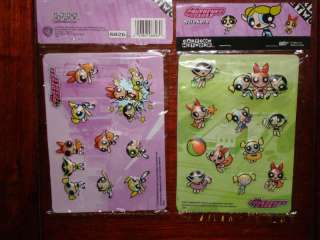 18   Cartoon Network Powerpuff Girls 3D Stickers NEW
