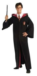 HARRY POTTER HALLOWEEN COSTUME GRYFFINDOR ROBE Adult Men 889785