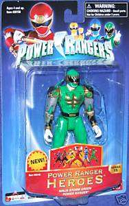 Power Rangers Ninja Storm Green Samurai Ranger New 5 inch hero series