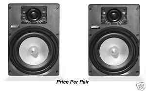 NEW EARTHQUAKE SOUND IMAGE 6 HIGH END IN WALL SPEAKERS 6 PAIR