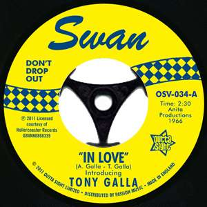 SOUL 45 Tony Galla   In Love / In Love (instrumental) LISTEN